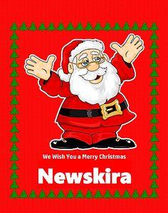 Merry Christmas santa claus newskira