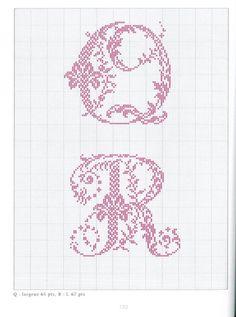 Gallery.ru / Фото #60 - belles lettres au point de croix - moimeme1