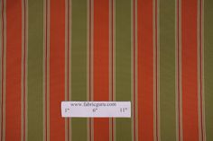 Richloom Oceanside Woven Polyester Striped Outdoor Fabric in Tangerine $11.95 per yard CODE: 2806rh 26.3 Price: $11.95 In stock: 	69 yards