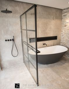 Dream Bathrooms 404901822744481952 - Monochrome concrete bathroom design Source by ninaonecstasy Dream Bathrooms, Beautiful Bathrooms, Modern Bathroom, Small Bathroom, Bathroom Ideas, Luxury Bathrooms, Bathroom Vanities, Master Bathrooms, Bathroom Black