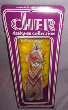 VINTAGE CHER DESIGNER OUTFIT - INDIAN SQUAW - MIB -By BOB MACKIE - MEGO 1976 #Mego #ClothingAccessories