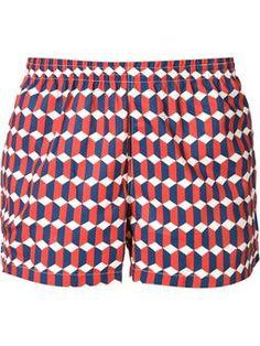 779b3171fb zigzag pattern swim shorts Beachwear, Swimwear, Swim Trunks, Pattern,  Casual Wear For