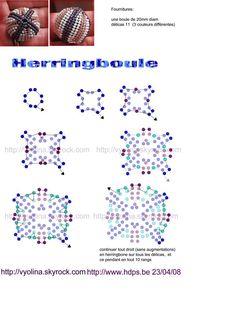 sfere rivestite beaded beads