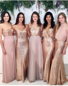 Love the idea of doing a mix of these for bridesmaids!