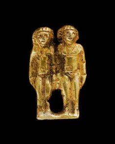 Twin amulet gold      Nubian, Meroitic Period, 270 B.C.–A.D. 320   Findspot     Meroe, Nubia, Sudan