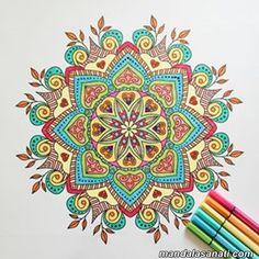 10 En Iyi Mandala Görüntüsü Pointillism Mandala Coloring Ve Mandalas