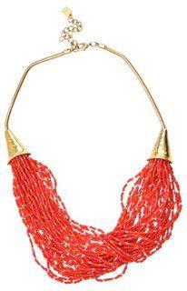 Robert Lee Morris Red Torsage Necklace | Trend Spotting | One Kings Lane