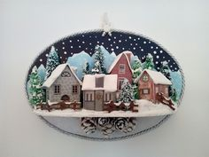 Boulle, Christmas Time, Christmas Crafts, Winter Scenes, Snow Globes, Patterns, Snow, Block Prints, Winter Scenery