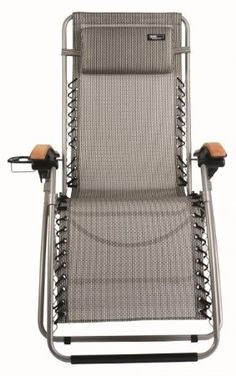 Travelchair Lounge Lizard Outdoor Chair, Salt and Pepper