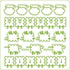 Judith Batllés #threefivefifty #02 #sticker #3550 #design #ilustration #green #barcelona Barcelona, Notebook, Sticker, Bullet Journal, Green, Design, Barcelona Spain, Stickers