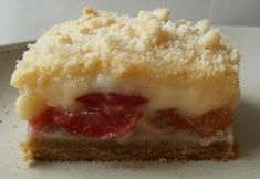 Csilla konyhája, mert enni jó!: Krémes cseresznyés lepény Cheesecake, Dessert Recipes, Food, Pies, Kuchen, Cheesecakes, Essen, Meals, Desert Recipes