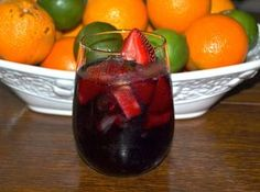 Berry Sangria (like Olive Garden's) Recipe   Just A Pinch Recipes