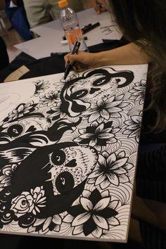 Uma conferência internacional de Arte e Criatividade. Mais fotos em migre.me/rSxlc