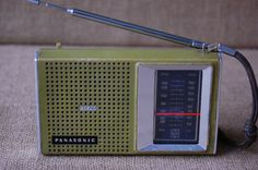 Vintage Transistor Radio Vintage Panasonic by PickersWarehouse