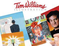 Tim Williams Illustration - skillful and original illustrations.