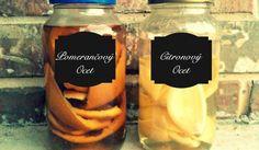 Univerzální domácí čistící prostředek z octa a citrusů