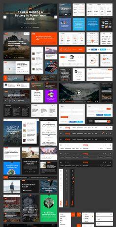 Snug. UI Kit - Perfect Toolkit for Blog and Magazine
