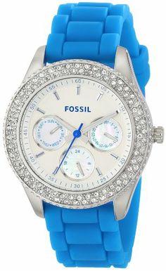 Fossil Women's ES3497 Stella Analog Display Analog Quartz Blue Watch Fossil http://www.amazon.com/dp/B00HVBJHBY/ref=cm_sw_r_pi_dp_KCbPtb0TQQGX5KQ9