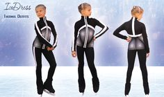 IceDress Figure Skating Outfit - Jump  https://figureskatingstore.com/icedress-figure-skating-outfit-jump-black-with-white-stripes/ #icedress #figureskatingoutfits #figureskatingapparel #figureskatingjacket #figureskatingpants #figureskatingdress #iceskatingdress #figureskatingstore #skatingclothes #skating #dress #dresses #jacket #pants #costume #skatingdress #figureskatingdresses #thermal #outfits #figure #ice #skating #dress #dresses #skatingdress #figureskatingdresses