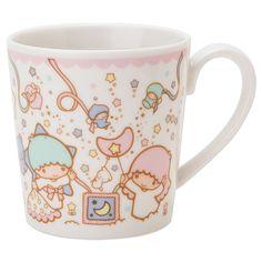 Little Twin Stars Kiki Lala Mug Cup Party Sanrio JAPAN-01