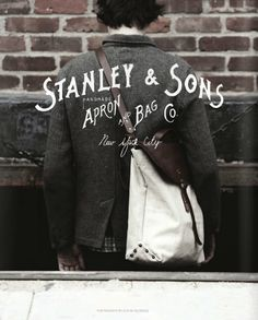 Stanley  Sons handmade Apron and Bag Company - New York City