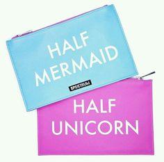 &, mermaid, and unicorn image