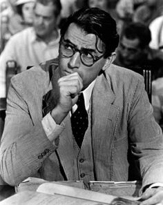 Atticus Finch. Didn't realize he was mighty fine..