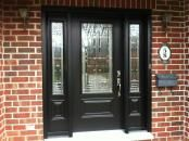 front doors with sidelights | BLACK FRONT DOOR WITH SIDELIGHTS