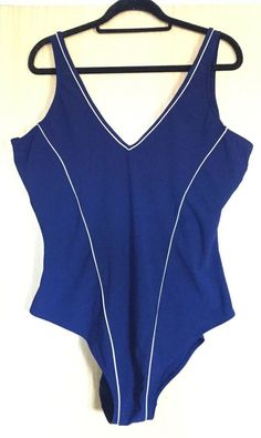 43c9359efd7 George Ladies Swimming Costume 24 Holiday One Piece Sports Plain Beach EUC  Navy  fashion  clothing  shoes  accessories  womensclothing  swimwear (ebay  link)