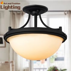 Modern Iron Ceiling Light Top Quality Living Room Bedroom Light