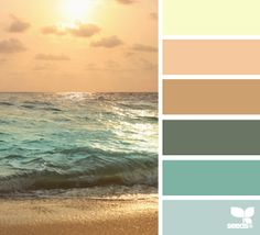 Beach color schemes color escape beach decor color palette from design seeds beach color schemes interior . Scheme Color, Colour Pallette, Color Palate, Colour Schemes, Color Combinations, Ocean Color Palette, Beach Color Palettes, Sunset Palette, Design Seeds