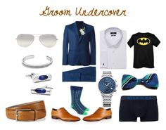 """""""Groom Undercover"""" by zigzag433 on Polyvore featuring Laura Cole, David Yurman, Diesel, Ray-Ban, women's clothing, women's fashion, women, female, woman and misses"""
