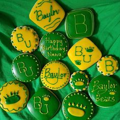 Baylor cookies for a