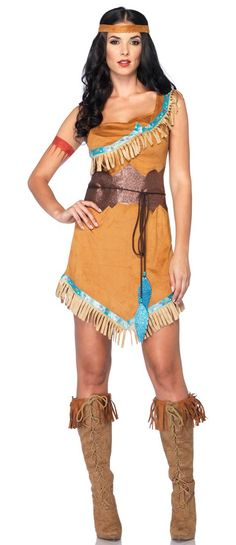 Disney Pocahontas Adult Costume - Indian Costumes