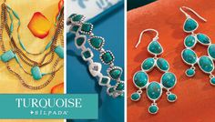 As timeless as it is chic, Turquoise has been on-trend season after season, and this year, it's bigger than ever. To heat things up, we've incorporated both natural-colored and ultra-bright Turquoise into our new summer collection. The best part of this jewelry is its versatility: These captivating blue-green pieces can easily transition from a casual day look to a dressed-up nighttime look.