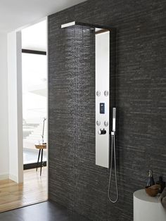 Hudson Reed Genie Thermostatic Shower Panel | http://ever-unfolding.net/best-shower-panel-reviews/
