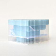 oyo architects bauhaus-model.jpg maquette model doos in doos tussenruimte binnen buiten