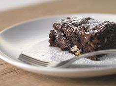 Nutritious Lower-Carb Chocolately Flaxseed Brownies