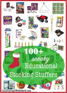 Sneaky Educational Stocking Stuffers Christmas stockings are a long held tradition in the West household. Of all the gifts around the Christmas tree, it seems the stockings are the most anticipated – which is why we save them u… Stocking Stuffers For Adults, Best Stocking Stuffers, Christmas Stocking Stuffers, Inexpensive Stocking Stuffers, Toddler Stocking Stuffers, Christmas Activities, Christmas Crafts, Christmas Tree, Xmas