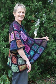 Granny Square Kimono IMG_0794 by miracle design, via Flickr