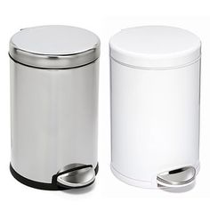 simplehuman® 1.2 gal. Round Step Can