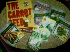 A Family In The Land: The Carrot Seed {BFIAR}