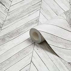 Graham & Brown Fresco Grey Herringbone Wood Wallpaper - B&Q for all your home and garden supplies and advice on all the latest DIY trends Grey Herringbone Wallpaper, Brick Wallpaper Grey, Blue And White Wallpaper, Brown Wallpaper, Herringbone Tile, Wood Wallpaper, Embossed Wallpaper, Wallpaper Ideas, Grey Brick