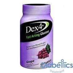 Geiss Destin & Dunn - PD51066 - Dex 4 Glucose Tabs, Grape