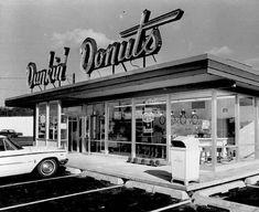 First Dunkin' Donuts built in Salem, Oregon