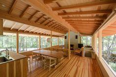 蓼科の森の家 横内敏人建築設計事務所