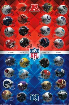 size: 22x15in Poster: NFL League - Helmets 17 : Nfl Football Helmets, Vikings Football, Football Art, Cowboys Football, Minnesota Vikings, Fantasy Football, Dallas Cowboys, Seahawks Football, Football Memes