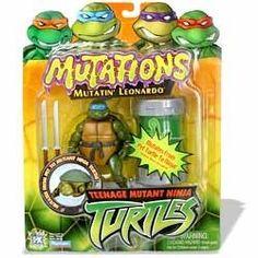 Teenage Mutant Ninja Turtles: Mutatin' Leonardo Figure Playmates http://www.amazon.com/dp/B0000VV2W4/ref=cm_sw_r_pi_dp_Osequb0R898N6