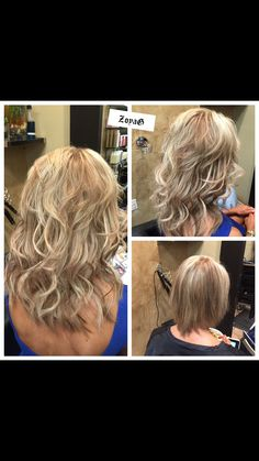 Short hair great length extension by Zoya. #zoya#best extensions Visit my website  Http://www.hair-DALLAS.com