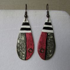 Drop Earrings, Christmas Ornaments, Holiday Decor, Red, Jewelry, Home Decor, Jewlery, Decoration Home, Bijoux